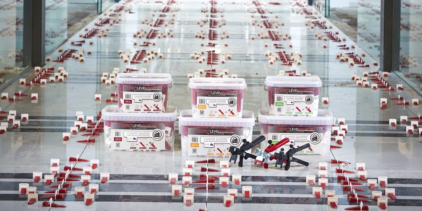 Homepage T-Lock™ Perfect Level Master - Tile Leveling System